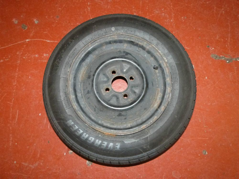 4 Stud 155 80 R13 Caravan Motorhome Trailer Wheel and Tyre ...