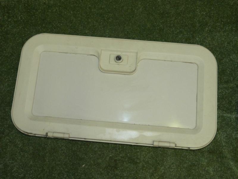 caravan battery locker box door campervan motorhome boat