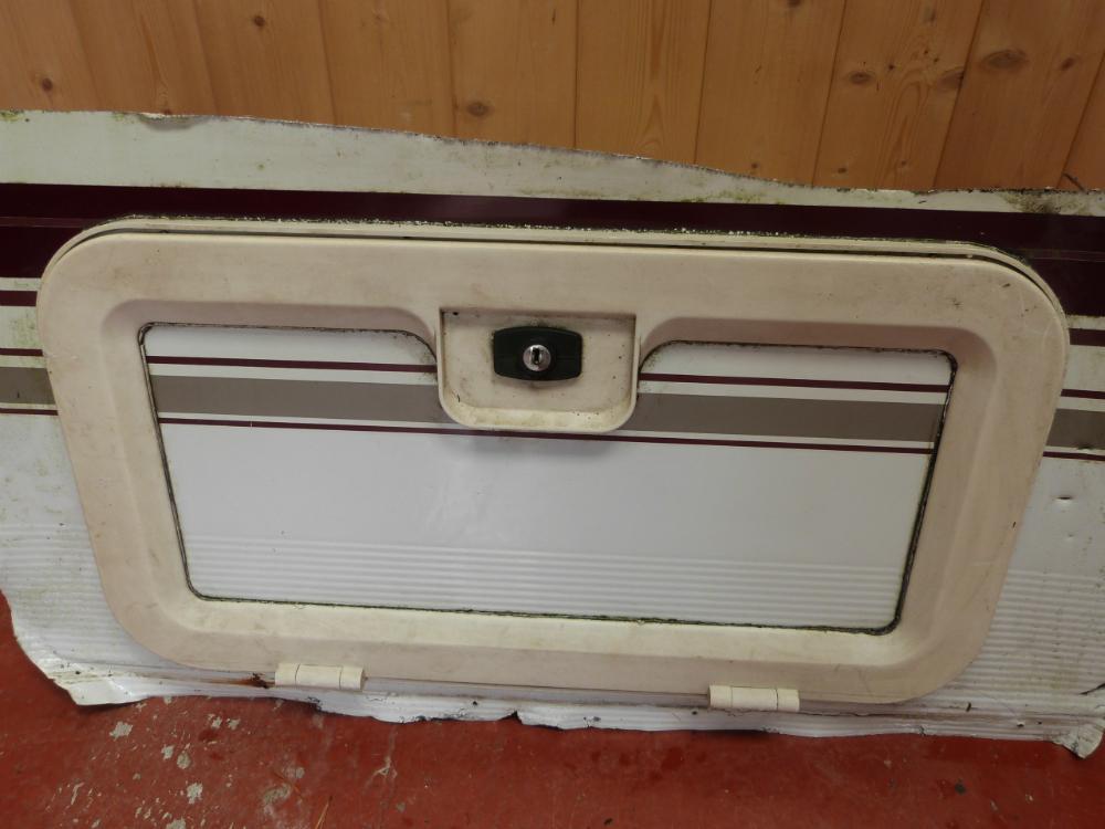 Fantastic Autotrail Gas Locker Door Motorhome  EBay