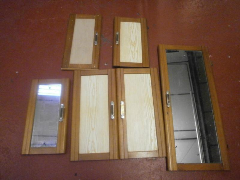 Caravan Cupboard Door Set of 6 motorhome conversion image 1 & Caravan Cupboard Door Set of 6 motorhome conversion - Internal Doors ...