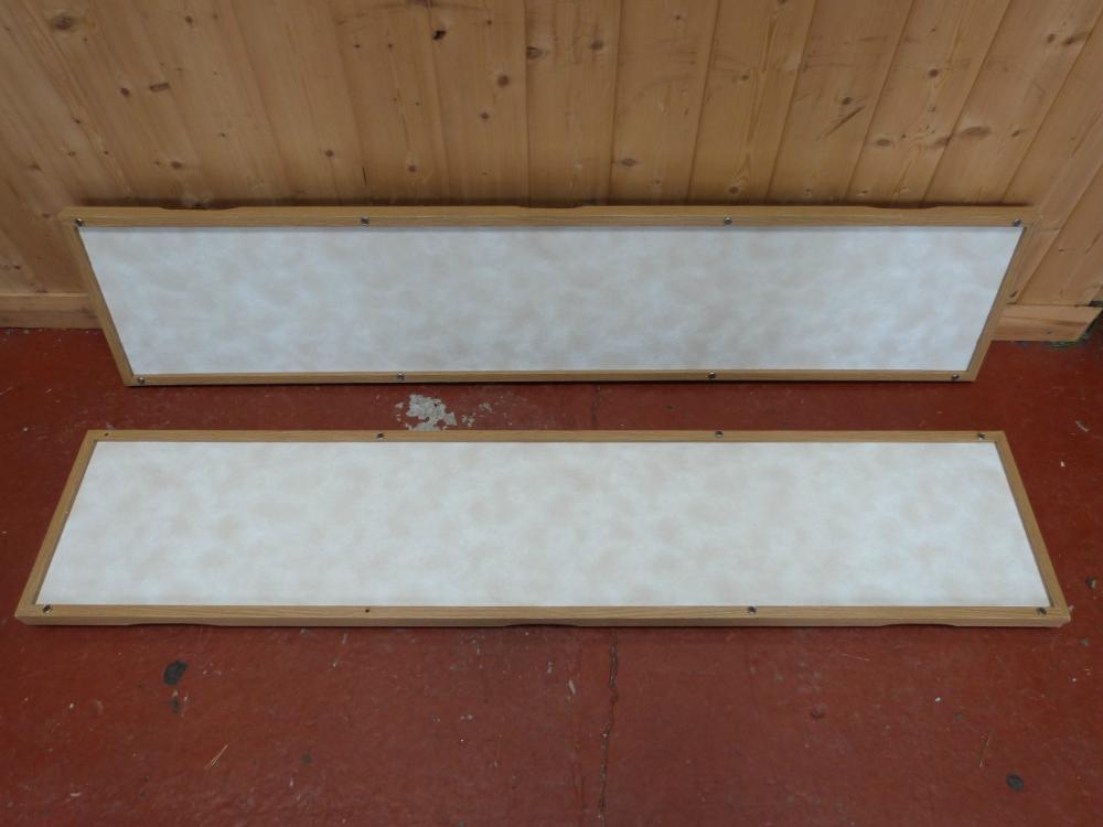 Caravan Motorhome Boat Conversion Cushion Wall Panels 1320 x 280mm