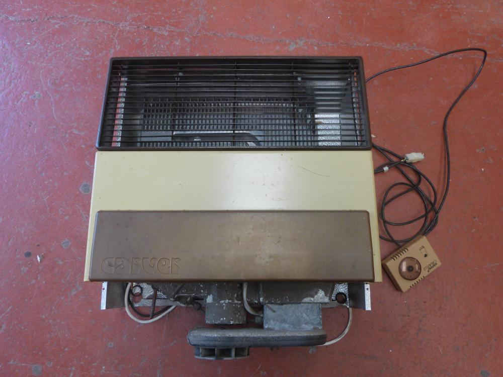 Caravan Motorhome Carver Gas Heater And Dial Ref Delta