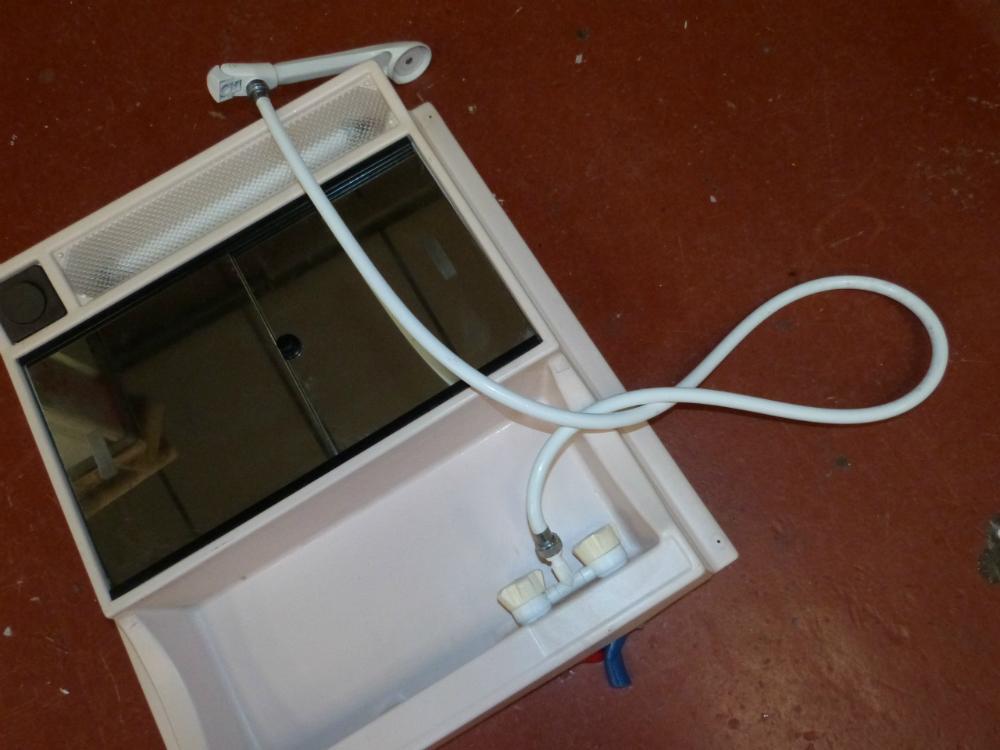 Caravan Motorhome Conversion Plastic Bathroom Mirror Unit