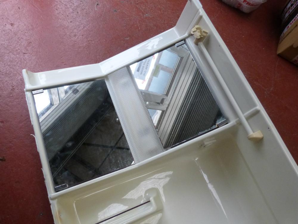 Caravan Motorhome Conversion Plastic Bathroom Unit With