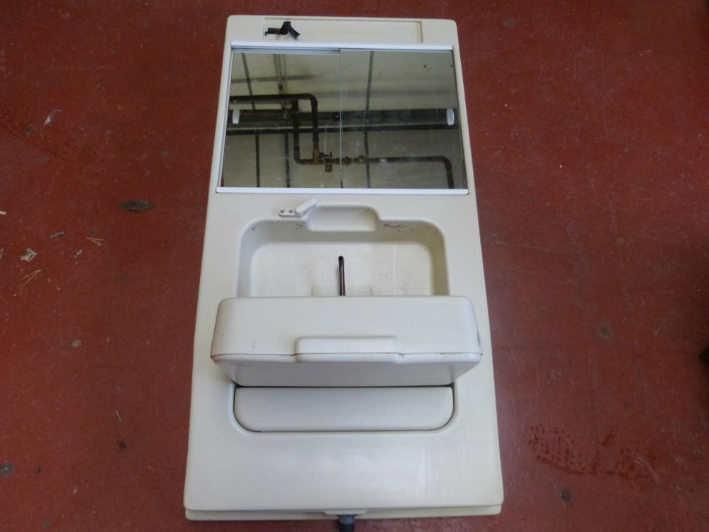 Caravan Motorhome Conversion Plastic Bathroom Unit With Taps Sink Ref Conwy Washbasins At