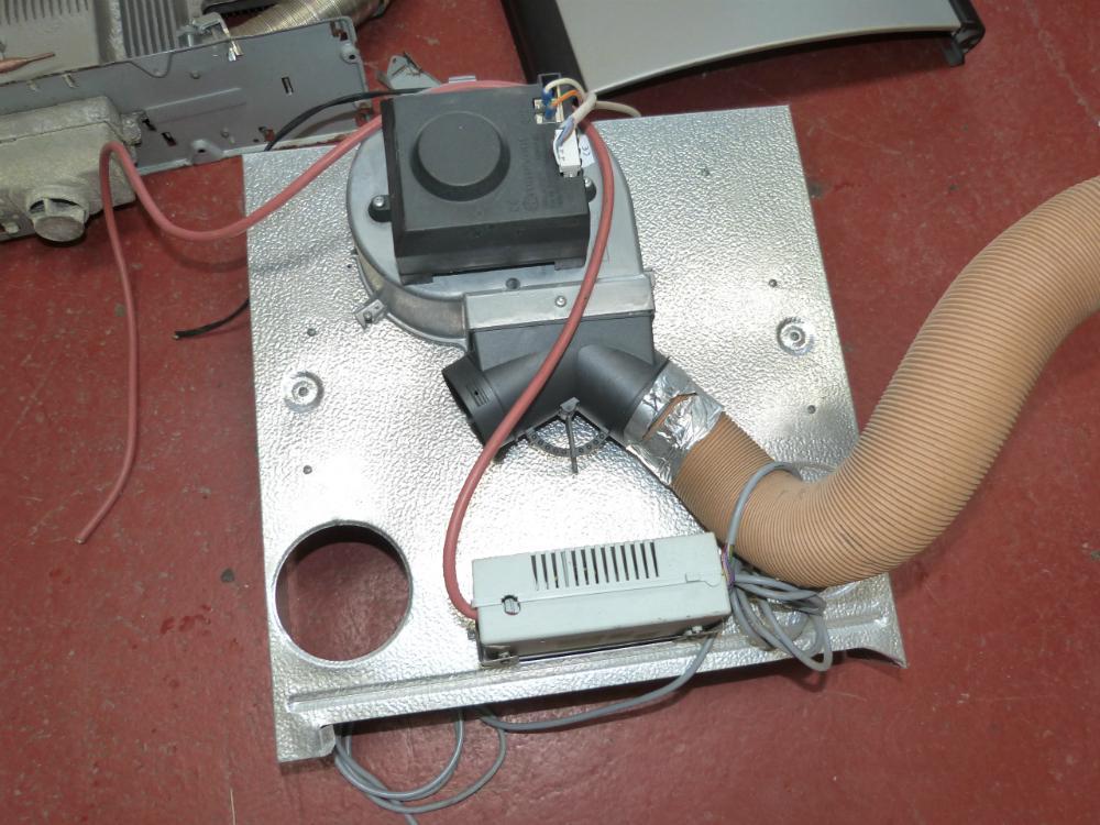 Caravan Motorhome Conversion Silver Truma Trumatic