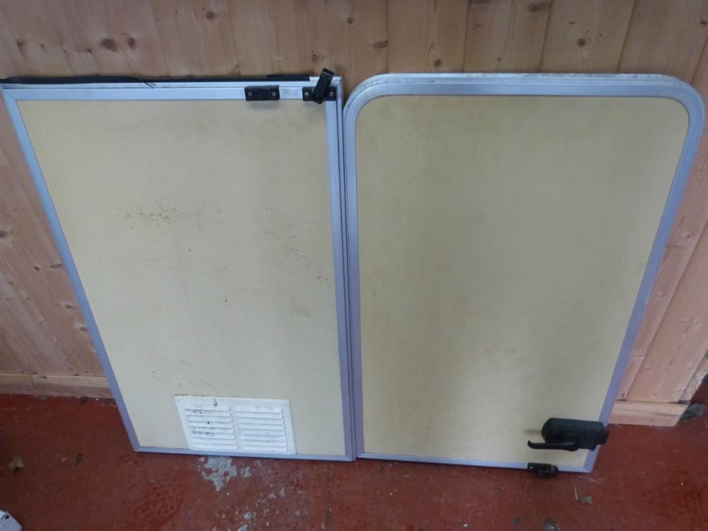 Elegant Gas Locker Door For Caravan Motorhome Conversions 115x53cm