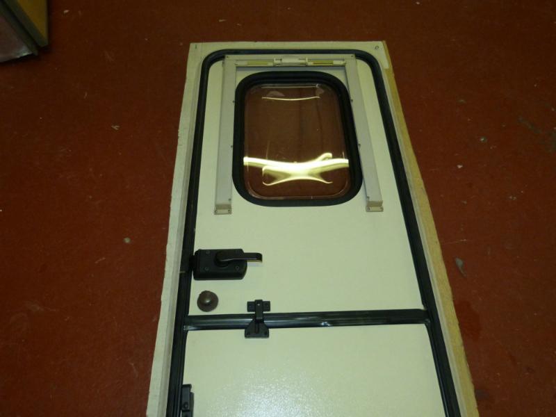 Caravan Motorhome Stable Entry Door Complete With Frame