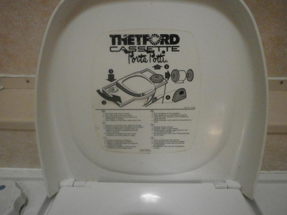 Thetford Bench Cassette Toilet Manual Flush on Thetford Fridge Parts