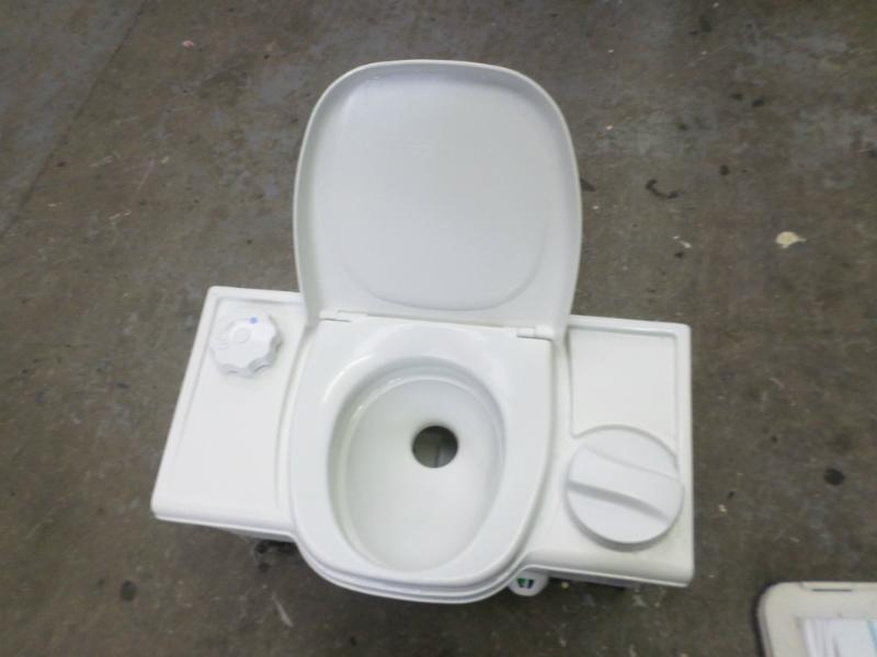 Used Caravan Thetford Cassette Toilet With Manual Right