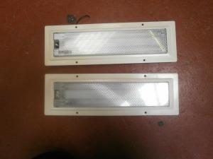 2 x Fluorescent Strip LightsLabcraft For Caravan Motorhome Conversions image 1