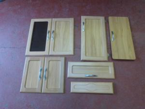 2007 Fleetwood Caravan Beach Effect  Set Of 8 Cupboard Doors REF DONCFLE image 1