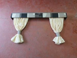 2007 Fleetwood Cravan  Pelmet And Curtain set 1330mm  REF DONCFLE image 1