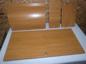 2007 Tabbert Caravan Onwards Internal Bathroom Cupboard Set image 1
