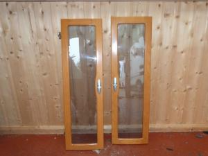 2007 Tabbert Caravan Onwards Pair of Cupboard Doors image 1