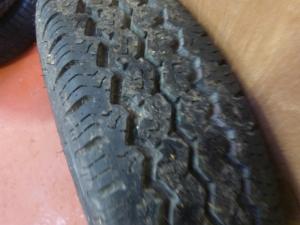4 Stud  R13c Caravan Motorhome Trailer Wheel and Tyre REF DALE image 1