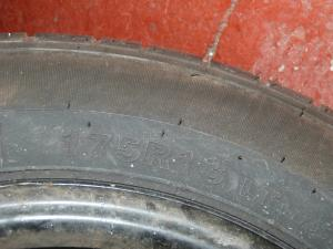 4 Stud Wheel and Tyre 175 R13 Caravan Campervan REF01 image 1