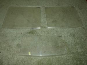 Abbey Caravan GTS 215 Transparent Perspex Doors / Lids NEW image 1