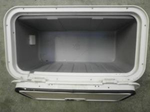 Caravan Battery Locker Box campervan motorhome boat conversion image 1