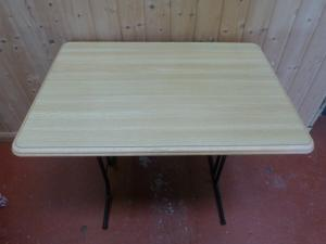 Caravan Campervan Motorhome Boat Conversion Free Standing Table 870mm x 600mm image 1