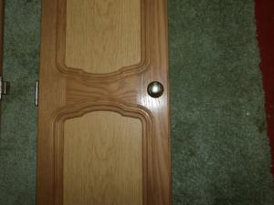 Caravan Campervan Motorhome Boat Conversion  Pair of Wardrobe Doors image 1