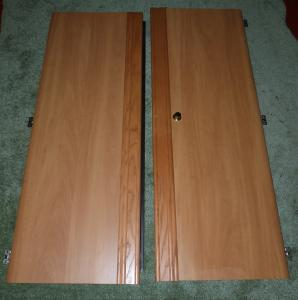 Caravan Campervan Motorhome Boat Conversion Swift Pair of Wardrobe Doors image 1