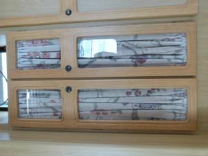 Caravan Campervan Motorhome Boat Conversion Wardrobe Doors 940 x 245mm REF JET image 1