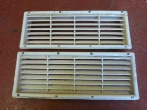Caravan Campervan Motorhome Conversion  Pair Fridge Vents REF:MIC image 1