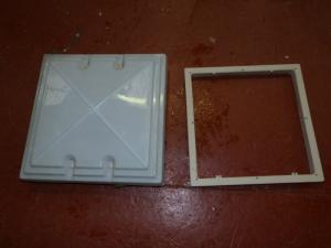 Caravan Campervan Motorhome Conversion Skylight 400mm x 400mm image 1