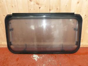 Caravan Conversion Rear Polyplastic Window 855mm x 460mm REF JET image 1