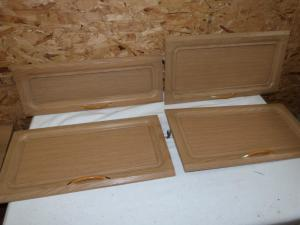 Caravan Cupboard Door Set of 10 motorhome conversion REF PASS image 1