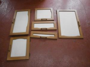 Caravan Cupboard Door Set of 6 motorhome conversion image 1