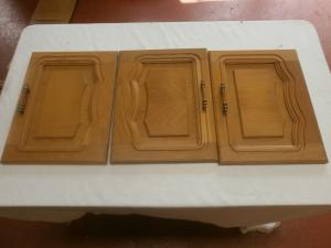 Caravan Cupboard Door Set of Nine Ideal For motorhome conversion image 1