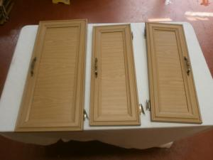 Caravan Cupboard Door Set of Six Ideal For motorhome conversion image 1