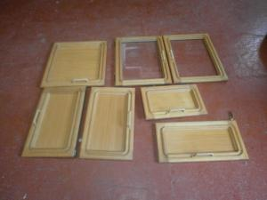 Caravan Cupboard Doors 10 Pieces motorhome conversion image 1