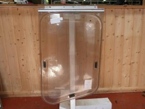 Caravan Ellbee Front Nearside Window - 490mm x 760mm x 600mm image 1