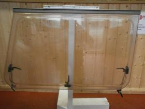 Caravan Front Nearside Polyplastic Window- 90x60x64cm conversions image 1