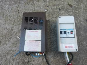 Caravan Fuse Box And Charger  For Motorhome Conversions REF CONWY image 1