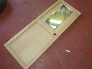 Caravan Internal Wardrobe Door 1255 x 480mm REF WEMDIP image 1