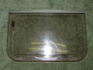 Caravan Kitchen Polyplastic Window- 650mm x 440mm image 1