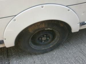 Caravan Motorhome 785mm Single Wheel Spat image 1