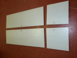 Caravan Motorhome Boat Conversion Bathroom Wardrobe Doors image 1