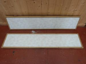 Caravan Motorhome Boat Conversion Cushion Wall Panels 1320 x 280mm REF PASS image 1