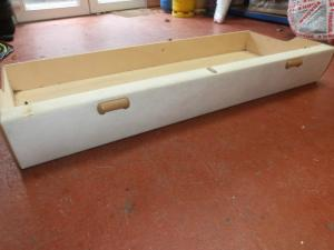 Caravan Motorhome Boat Conversion Internal Under Seat Drawer REF PASS image 1