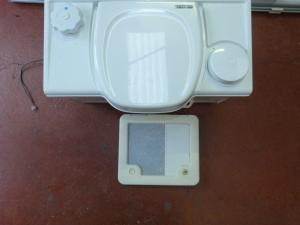 Caravan Motorhome Camper Conversion - Thetford C2 LH Bench Cassette Toilet image 1