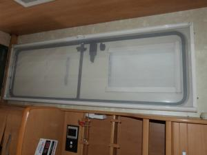 Caravan Motorhome Conversion Concertina Style Door Fly Screen image 1