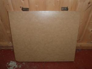 Caravan Motorhome Conversion Hinged Side Table 480mm x 400mm REF CONWY image 1
