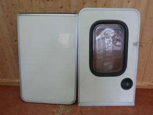 Caravan Motorhome Conversion JUBILEE Stable Door With Blind REF DONCSTAT image 1