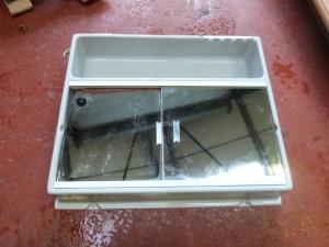 Caravan Motorhome Conversion Plastic Bathroom Unit REF MIC image 1