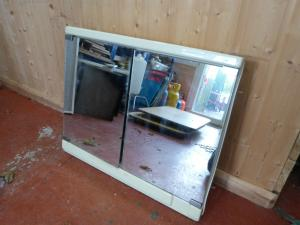 Caravan Motorhome Conversion Plastic Bathroom Unit with Mirrors REF MIC image 1